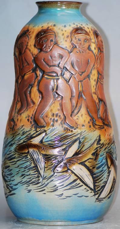 陈木泉老师以其极具特色的原住民陶艺创作,和大家分享他对这块宝岛